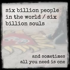Six Billion Souls / One Tree Hill