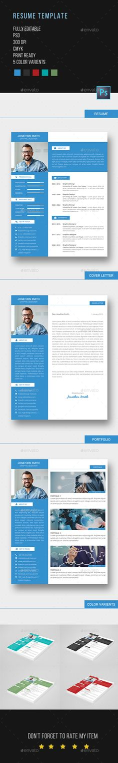 Professional Resume Template  Cv Template Functional  Cv