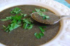 Welsh Cream of Mushroom Soup