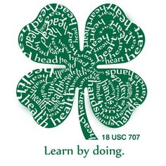 "4-H Maryland |"" Typography Artwork created by Laura Nelson. This University of Maryland Extension's, Wicomico County 4-H Program is stepping into the world of Arts, Communication and Technology (ACT) Design used to create our latest 4-H t-shirts promoting the 4-H Program. Check out more of Laura's work by visiting the graphic design page.""• Visit website !! Interesting•"