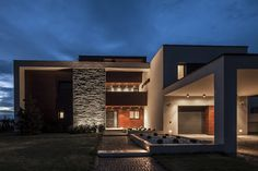 World of #Architecture: Lake Side Duplex #House by Toth Project, Hungary