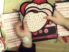 Love Mini scrapbook album