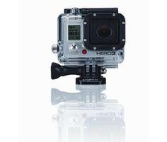 Caméra sport GOPRO HD HERO3 White Edition sur Tribway