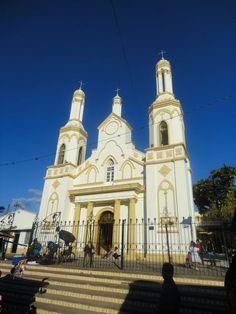 Church in Valle de Angeles, Honduras