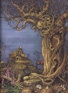 Philippe Fix. Illustration from the The Book of Giant Stories by David L. Harrison.