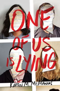 #CoverReveal One of Us Is Lying by Karen McManus
