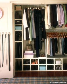 Build a DIY closet organization system