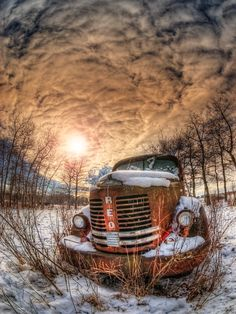 Speedwagon is a photograph by Wayne Stadler. An old REO Speed wagon rusts through another cold prairie winter in rural Alberta, Canada. Source fineartamerica.com