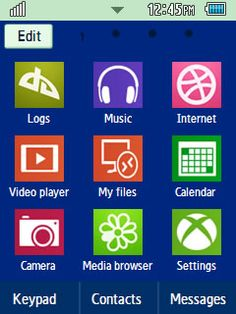 Samsung corby applications free download.