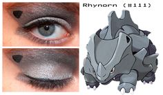 Rhynorn inspired make up Pokemon Makeup, Pokemon Halloween, Make Up, Inspired, Earrings, Jewelry, Ear Rings, Stud Earrings, Jewlery