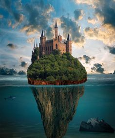 Your own private island http://susanneleist.blogspot.com What if this existed? It's closer than you think. #ASMSG #IARTG #blue