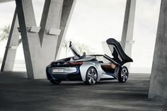 Official BMW i8 Spyder Concept