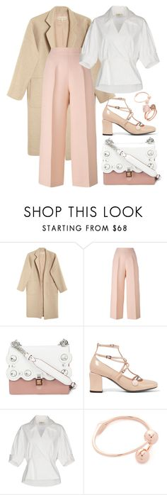 """""""Dinner with Friends / 9.11.2017"""" by decimaollin ❤ liked on Polyvore featuring Mara Hoffman, Fendi, Kate Spade and Michael Kors"""
