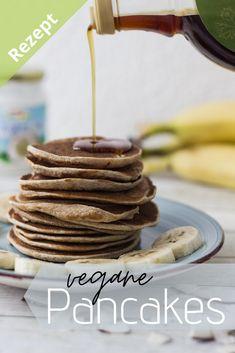 Hier findest du das Rezept zu diesen leckeren und gelingsicheren Pancakes.  #zuckerfrei #gesund #vegan