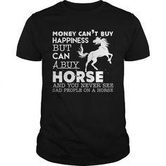 I Love HORSE And Happiness Grandpa Grandma Dad Mom Lady Man Men Women Woman Girl Boy Cowboy Lover Rider T-Shirts