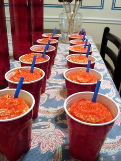 How to: make Glee Slushie Cupcakes
