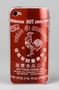 Sriracha Epoxy Skins for iPhone 4/4S