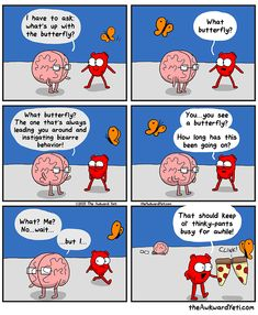 finally, some insight into the meaning of the butterfly in the Heart and Brain series