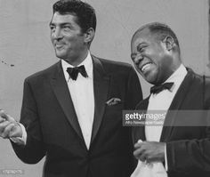 dean martin newspaper photos | Louis Armstrong Performing With Dean Martin On His Tv Show. : News ...