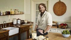 The chef and River Cottage Australia host shows us around his kitchen cupboards. River Cottage, Cottages Uk, Popular Tv Series, Kitchen Cupboards, Country Kitchen, New Recipes, Good Food, House Design, Australia