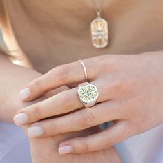 7 Charming Sisters Blissful Brilliance Ring