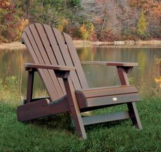 These simple and functional adirondack chairs plans are affordable, colorful and especially easy to build with these detailed ideas and video from Lowe's.