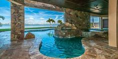 After you put in a pool in your backyard, it's important that you put in a fence around it. Pools supply a stunning outdoor setting and give endless hours of entertainment. Beach Houses For Rent, Dream Beach Houses, Dream Vacations, Vacation Spots, Vacation Places, Water House, Villa, Thing 1, Dream Pools