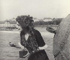 Mary Pickford with a camera