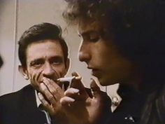 Bob Dylan and Johnny Cash, 1966