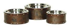 Unleashed Life Briggs Reclaimed Steel Drum Dish, Medium