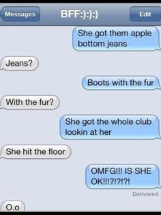 She Got Them Apple Bottom Jeans Boots With The Fur - Jon Jean