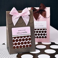Favor Gift Box ~ Just so Pretty!    #wrapping #packaging #DIY #Gifts