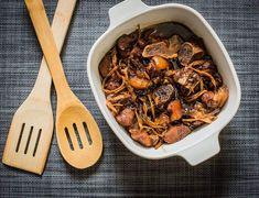 Humba. Stewed pork. A sweet version of adobo.
