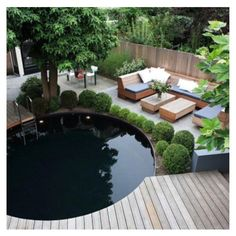 Natuurlijk zwembad, idee voor de tuin!