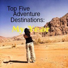 Top Five Travel Destinations, travel, adventure, destinations