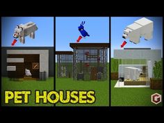 todays minecraft build showcase is on s… 29 Minecraft Pet (Animal) House Designs! todays minecraft build showcase is on small animal houses to keep your pets safe and to look cool! We managed to mak… Minecraft Mods, Modern Minecraft Houses, Minecraft House Tutorials, Minecraft Houses Survival, Minecraft Plans, Minecraft Houses Blueprints, Amazing Minecraft, Minecraft House Designs, Minecraft Tutorial
