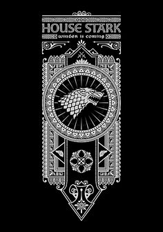 Game of thrones qwertee design - cross stitch design? Game Of Thrones Theme, Game Of Thrones Shirts, Game Of Thrones Houses, Casa Stark, House Stark, Cross Stitch Designs, Cross Stitch Patterns, Bead Patterns, Summer Party Games