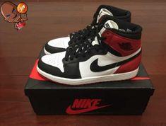 Nike Shoes,Authentic Air Jordan 1 Retro Black Toe
