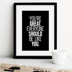 Printable Typography Inspirational Quote by TheMotivatedType, $9.00