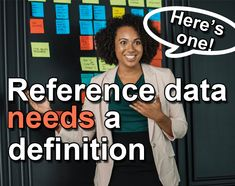 Reference data. What is it?