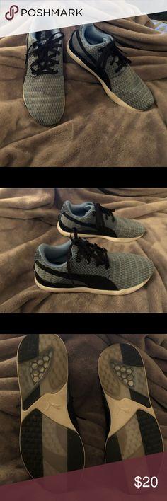 Puma Sneaker Trinomic Schuhe Baby Kinder Mesh 24 grau Neu 22 Neopren Gr