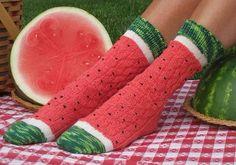 Vandmelon strømper