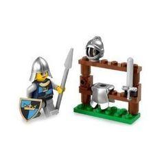 Amazon.com: Lego Castle Exclusive Mini Figure #5615 The Knight: Toys & Games