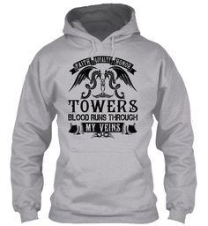 TOWERS - My Veins Name Shirts #Towers