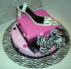 Shoe Party Decorations | Zebra Shoe | Birthday party ideas