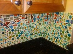 I would love to do this mosaic backsplash in my kitchen.
