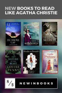 If you love classic mysteries, don't miss our list of NEW books to read if you like Agatha Christie's books.