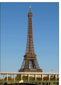 Carte La tour Eiffel et le pont de Bir Hakeim pour envoyer par La Poste, sur Merci-Facteur !