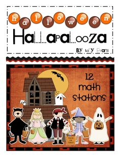 Halloween Hallapalooza Math Stations