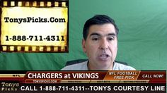 San Diego Chargers vs. Minnesota Vikings Pick Prediction NFL Pro Footbal...